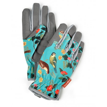 Ekskluzywne rękawiczki ogrodnicze seria Flora&Fauna od Burgon&all