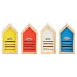 Kolorowy domek dla biedronek