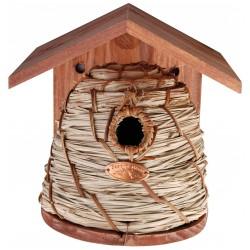 Domek, budka lęgowa dla ptaków w kształcie ula