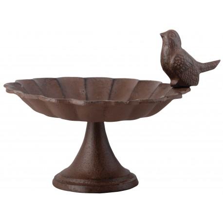 Żeliwne poidełko retro żeliwny karmnik dla ptaków