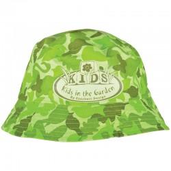 Dziecięcy kapelusz ogrodowy wzór moro