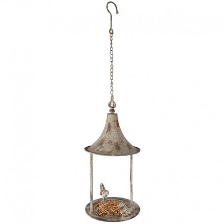 Karmnik dla ptaków na orzechy styl retro