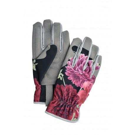 Ekskluzywne rękawiczki ogrodnicze Burgon&Ball seria Passiflora