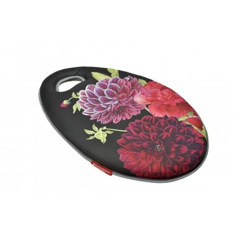 Klęcznik ogrodowy Kneelo® z miękkiej i wytrzymałej pianki z kolekcji British bloom