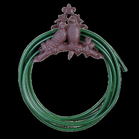 Żeliwny uchwyt na wąż ogrodowy