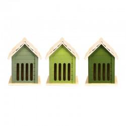 Zielony domek dla motyli