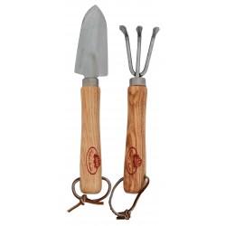 Zestaw mini narzędzi ogrodowych ze stali nierdzewnej