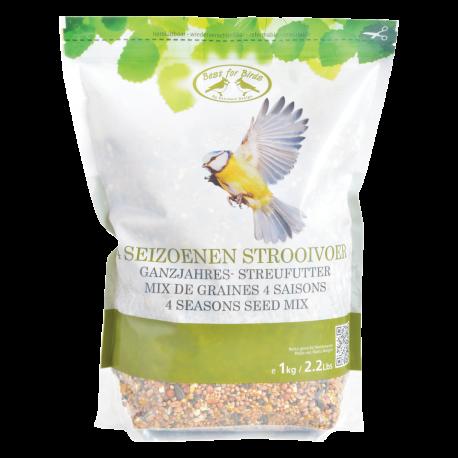 Całoroczna mieszanka nasion dla ptaków