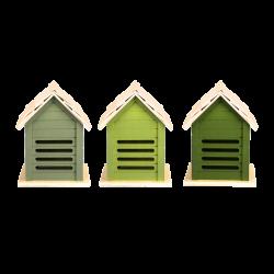 Zielony domek dla biedronek