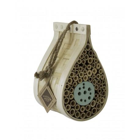 Domek kropla dla dzikich pszczół