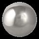 Duże srebrne kule do ogrodu
