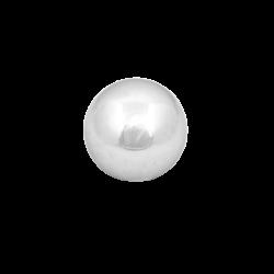 Małe srebrne kule do ogrodu