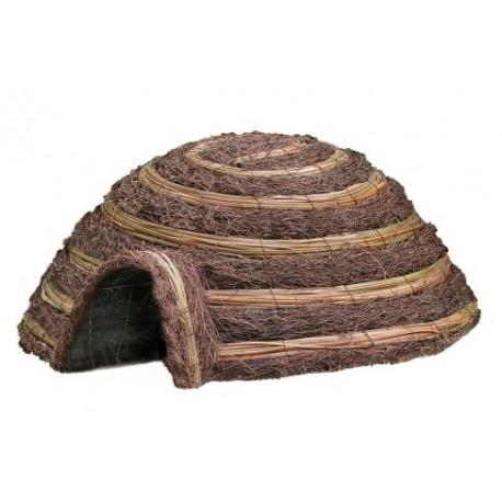 Duży domek dla jeża typu iglo