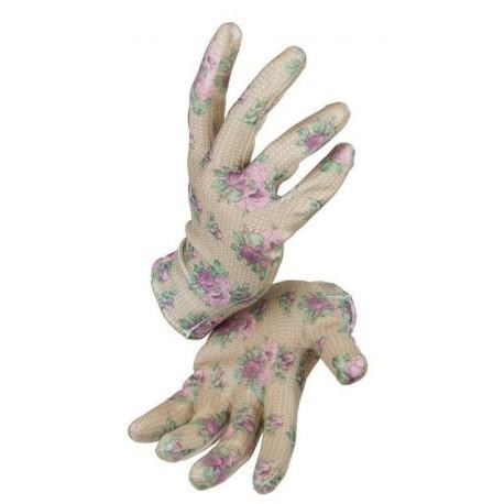 Rękawiczki do pielenia Garden Girl Róże