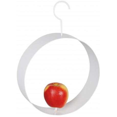 Karmnik dla ptaków do zawieszenia jabłek lub kul tłuszczowych