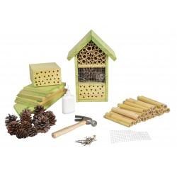Domek dla owadów zestaw do samodzielnego montażu DIY