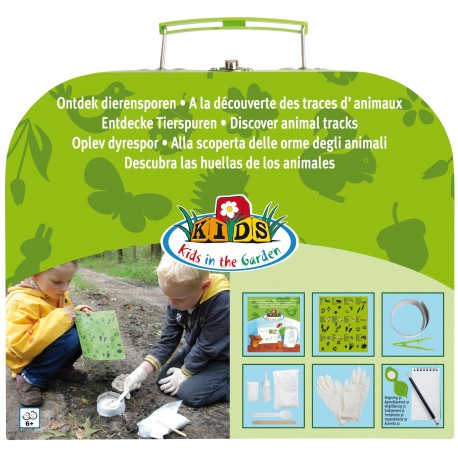 Dziecięcy zestaw do obserwacji śladów zwierząt