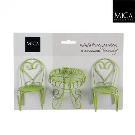 Mini garden zestaw krzesełka + stolik