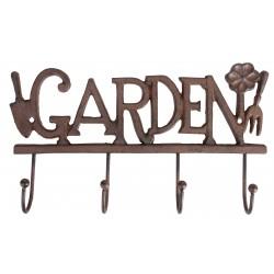 Żeliwny wieszak ogrodowy GARDEN