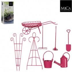 Mini ogródek zestaw 8 akcesoriów