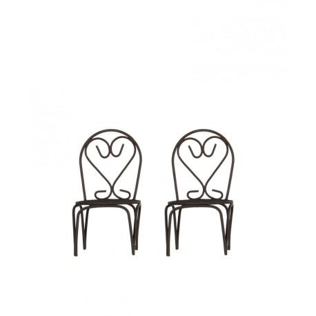 Mini garden zestaw krzesełka