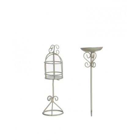 Mini garden poidełko oraz klatka dla ptaków