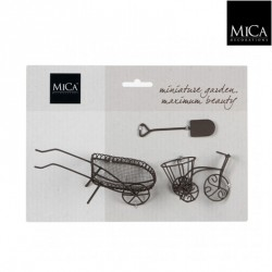 Mini ogródek zestaw taczka,rowerek,łopata