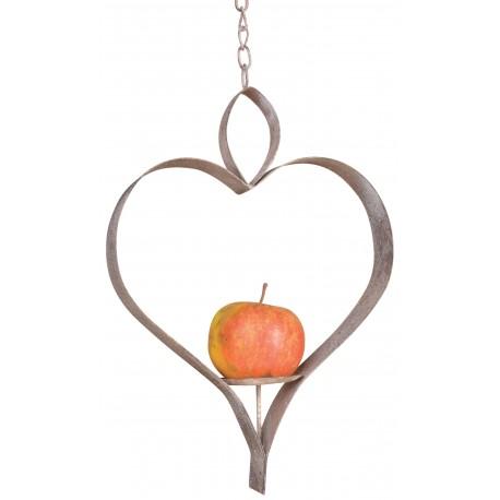 Karmnik dla ptaków do zawieszenia jabłek