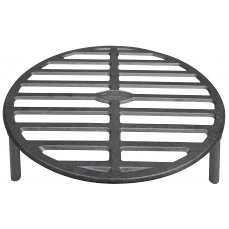 Żeliwny ruszt grillowy do paleniska ogrodowego lub na ognisko