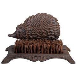 Wycieraczka do butów żeliwna z włóknem kokosowym jeż