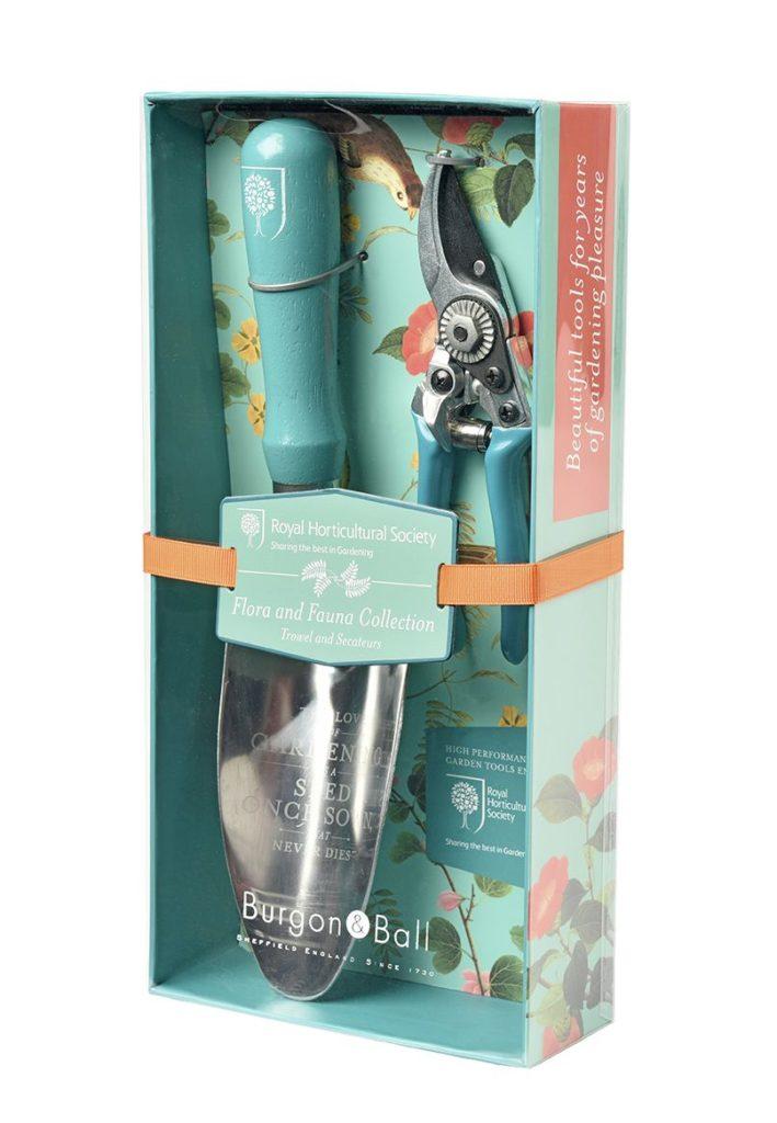 Zestaw łopatka plus sekator z kolekcji Flora&Fauna od Burgon&Ball