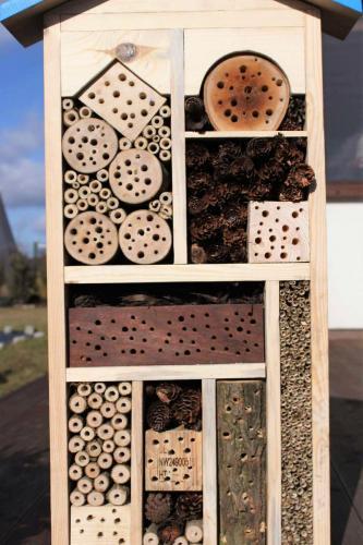 hotel dla owadów na bloga